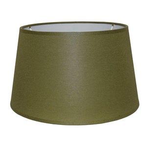 RamLux Lampenkap 35 cm Drum CHINTZ Olijfgroen