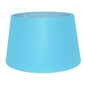 RamLux Lampenkap 30 cm Drum CHINTZ Licht Blauw