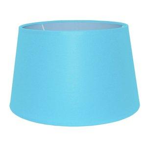 RamLux Lampenkap 35 cm Drum CHINTZ Licht Blauw