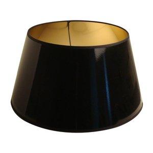 Light & Living Lampenkap 25 cm Drum LAK Zwart