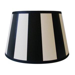 Light & Living Lampenkap 25 cm Drum KING Zwart