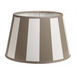 Light & Living Lampenkap 25 cm Drum KING Taupe