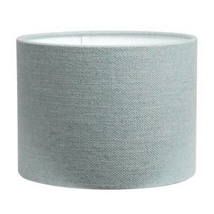 RamLux Lampenkap 30 cm Cilinder LIVIGNO Ijsblauw