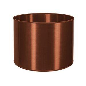 RamLux Lampenkap 35 cm Cilinder METALLIC Koper