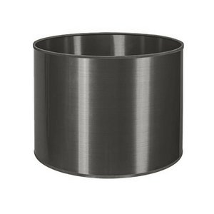 RamLux Lampenkap 25 cm Cilinder ALU Donker
