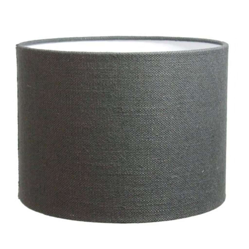 lampenkap 35 cm cilinder livigno antraciet lampenschirme. Black Bedroom Furniture Sets. Home Design Ideas