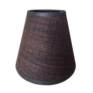 RamLux Lampenschirm Klemme 14 cm SAMI Braun