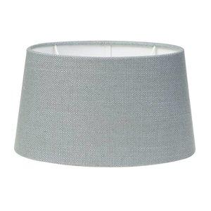 Light & Living Lampenschirm 25 cm Oval LIVIGNO Eisblau