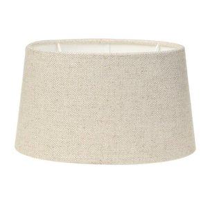 Light & Living Lampenschirm 30 cm Oval LIVIGNO Naturel