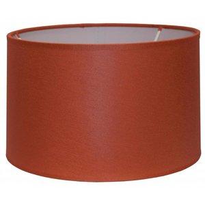 RamLux Lampenschirm 35 cm Zylinder CHINTZ Terrakotta