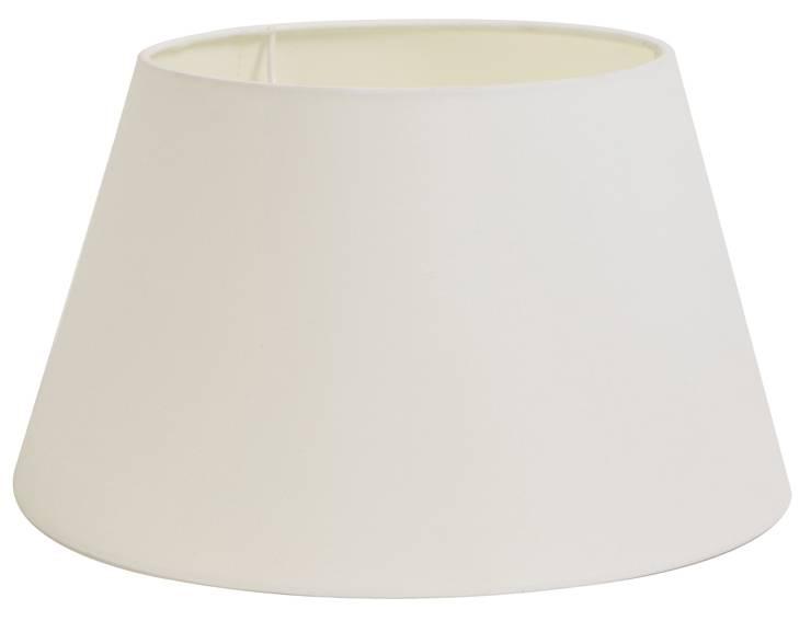 lampenschirm 30 cm konisch polycotton wei lampenschirme. Black Bedroom Furniture Sets. Home Design Ideas