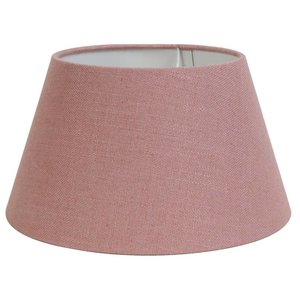 Light & Living Lampenschirm 35 cm Konisch LIVIGNO Alt Rosa