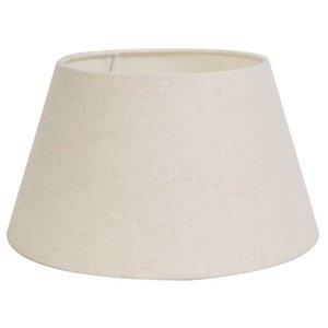 Light & Living Lampenschirm 55 cm Konisch LIVIGNO Eiweiß