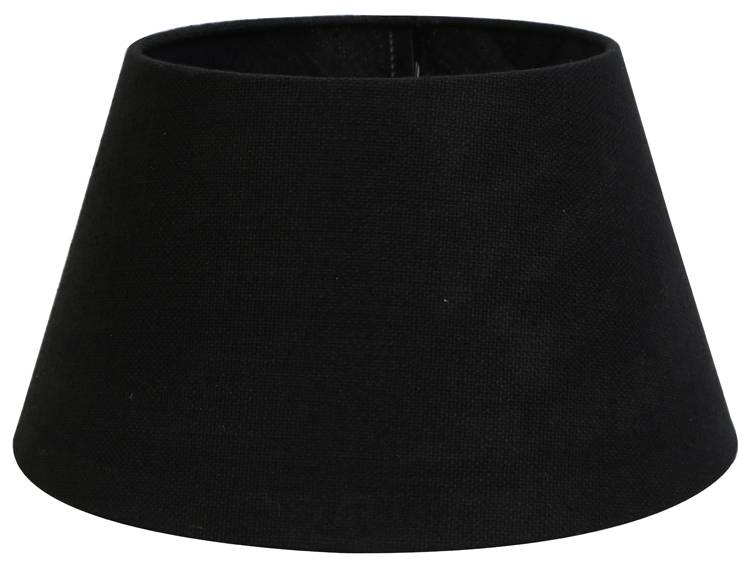 lampenschirm 50 cm konisch livigno schwarz. Black Bedroom Furniture Sets. Home Design Ideas