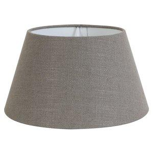 Light & Living Lampenschirm 35 cm Konisch LIVIGNO Leber