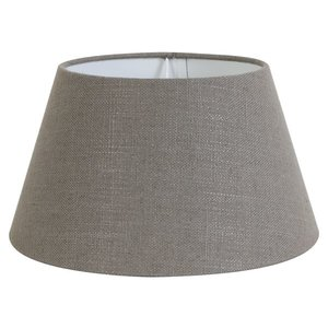 Light & Living Lampenschirm 55 cm Konisch LIVIGNO Leber