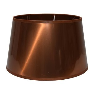 RamLux Lampenschirm 50 cm Konisch METALLIC Kupfer