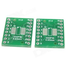 smd naar dip adapter SOP16/SSOP16