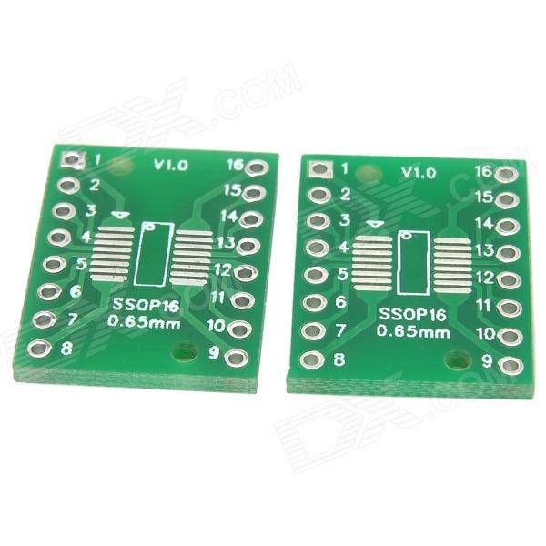 SMD to DIP Adapter SOP16 / SSOP16