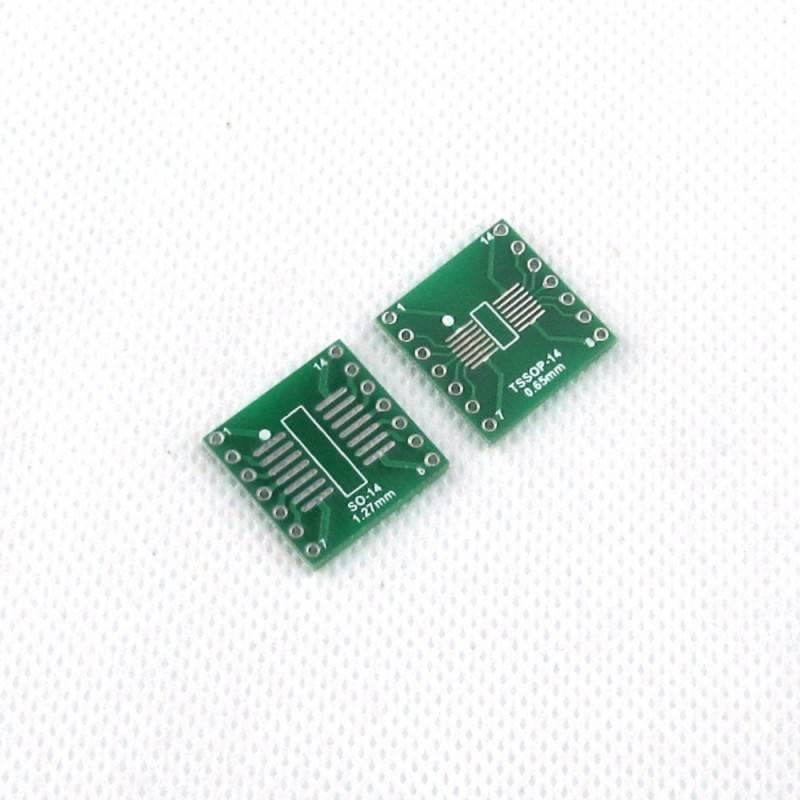 smd naar dip adapter SOP14/SSOP14