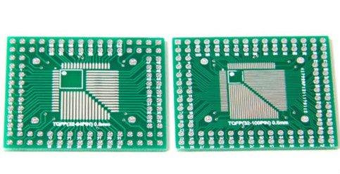LQFP naar DIP 32-100 pins