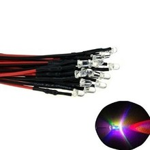 Pre Wired Led 3mm Knipper RGB