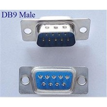 DB 9 Connector male