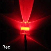 10mm Pre Wired Led Rood helder
