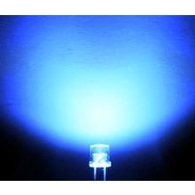 Flat top Led Blauw 3mm