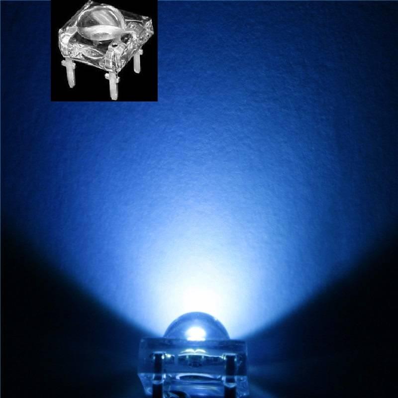 5mm Led Piranha Super Flux Blue