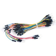 65pcs Flexible Breadboard Jumper Wires