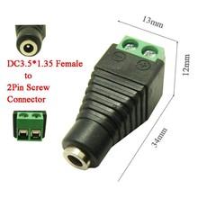 DC Power plug Female 1,35 x 3,5mm
