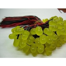 Pre Wired Led 5mm Colored Diffused Yellow