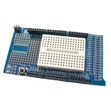 Prototype Shield Mega met mini Breadboard
