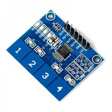 TTP224 Capacitive Touch sensor