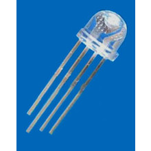 5mm Straw Hat Led RGB Common Anode