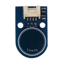 Double sided touch sensors TouchPad 4p/3p interface