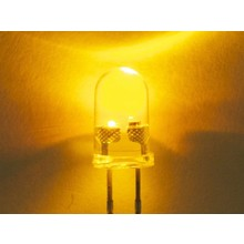 3mm Round Led Yellow Clear