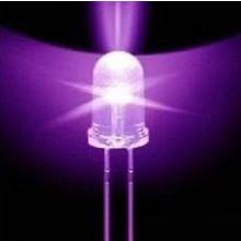 Round Led UV/Purple 3mm