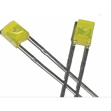 Led 2x3x4mm Yellow Diffused