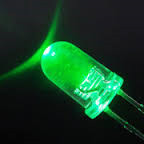 5mm Led Round Red/Green (flash)