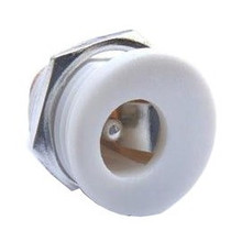 DC Power Connector 2,1 x 5,5mm White