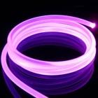 Optical Fiber Side Glow
