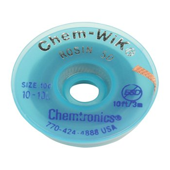 Chemtronics Chemtronics Desoldeerlint W:0,76mm; L:1,5m