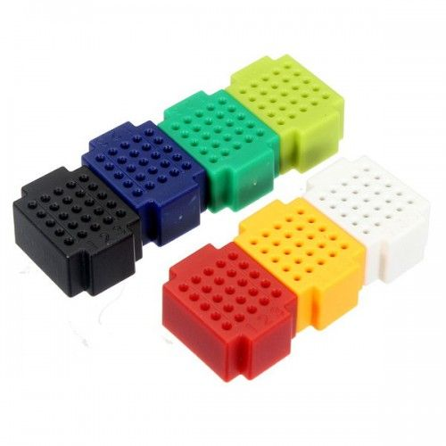 Mini breadboards 25 points