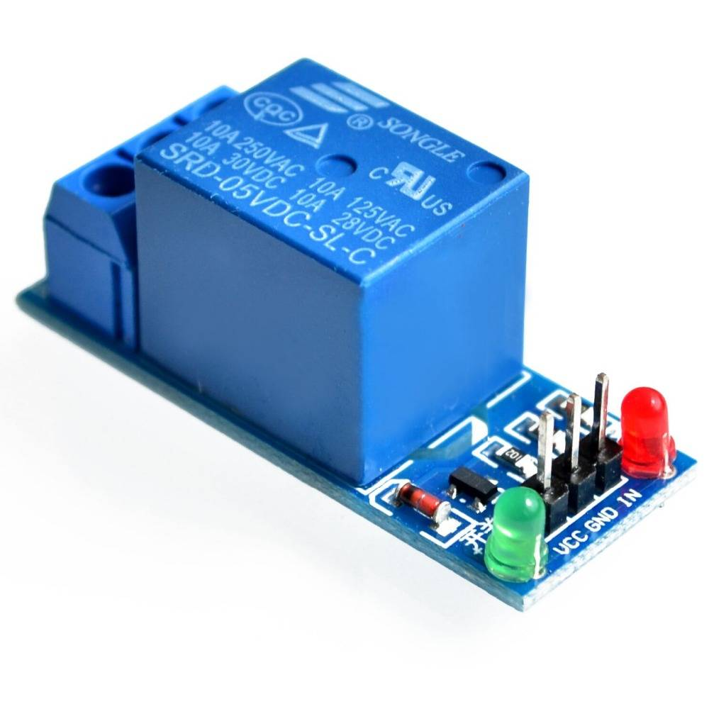 1 channal 5v DC Relay Module