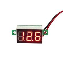 DC Voltmeter 0.28inch 3.5-30V 2 draads Rood