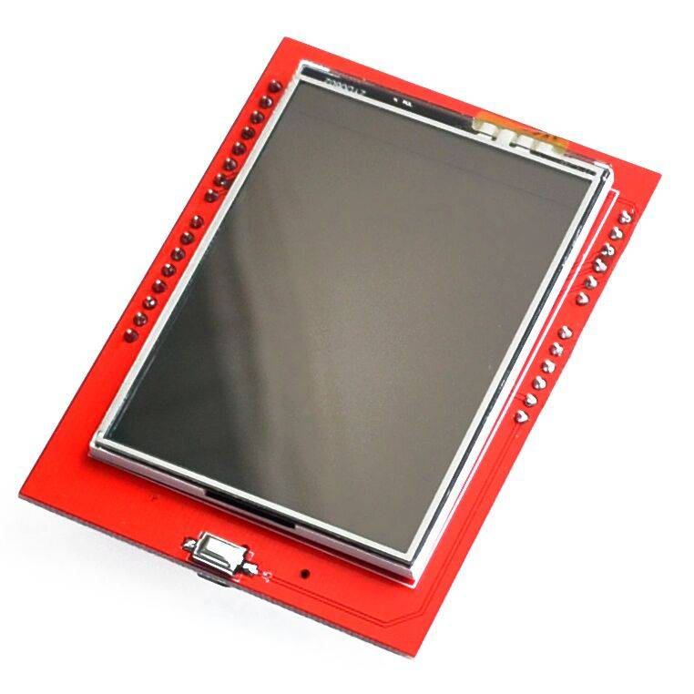Arduino 2,4 inchTFT  touch screen  met SD card slot