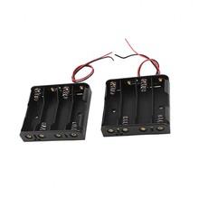 4 x 1.5V AA Batterij Houder