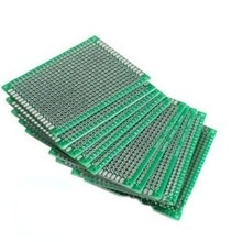 PCB Double-sided Green 7x9cm FR4